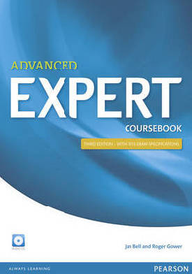 Advanced expert coursebook (+ 4 audio-cd's)