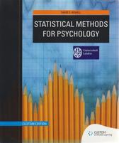 Custom Statistical Methods for Psychology