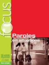 9782014016000-Focus-Paroles-en-situations-A1-B2-avec-corriges-livre-de-leleve--cd--parcours-digital
