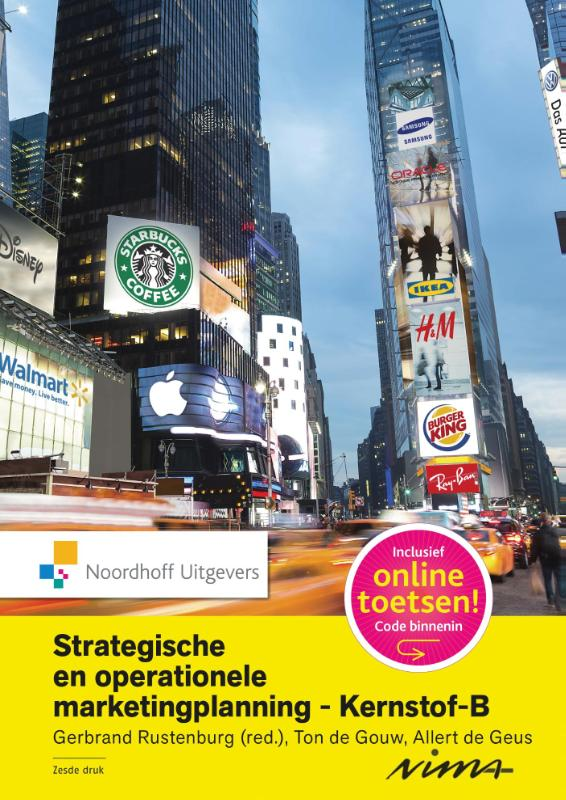 Strategische en operationele marketingplanning- Kernstof B