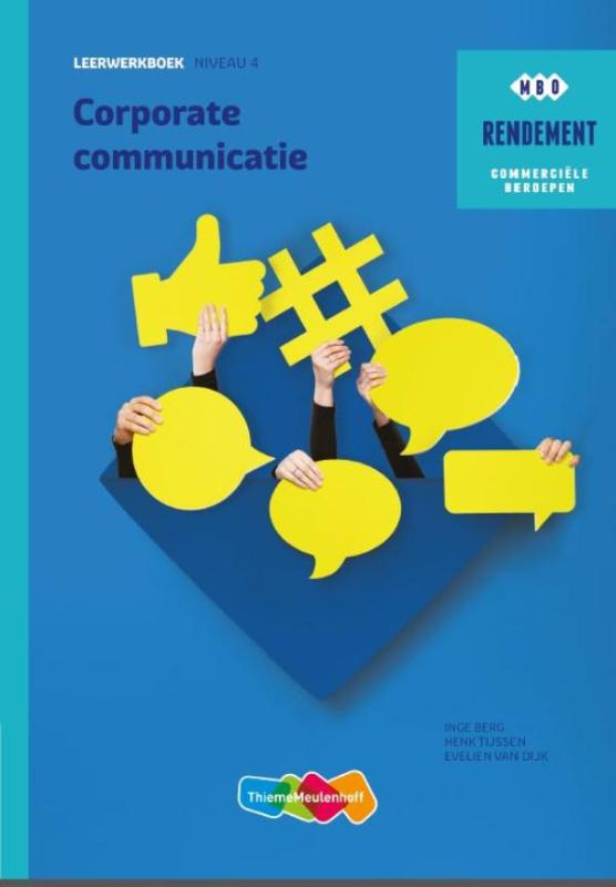 Rendement Corporate Communicatie Basisboek