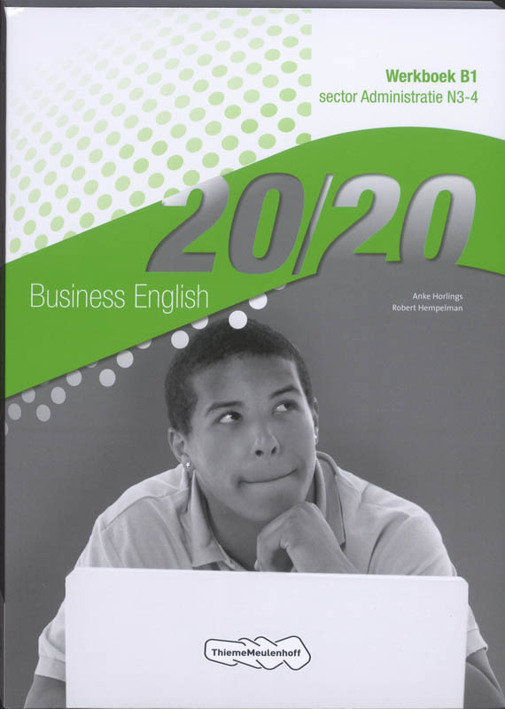 9789006814514-2020-Business-English-Sector-administratie-N3-4-deel-Werkboek-B1