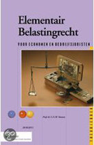 9789013074598-Elementair-belastingrecht-theorieboek