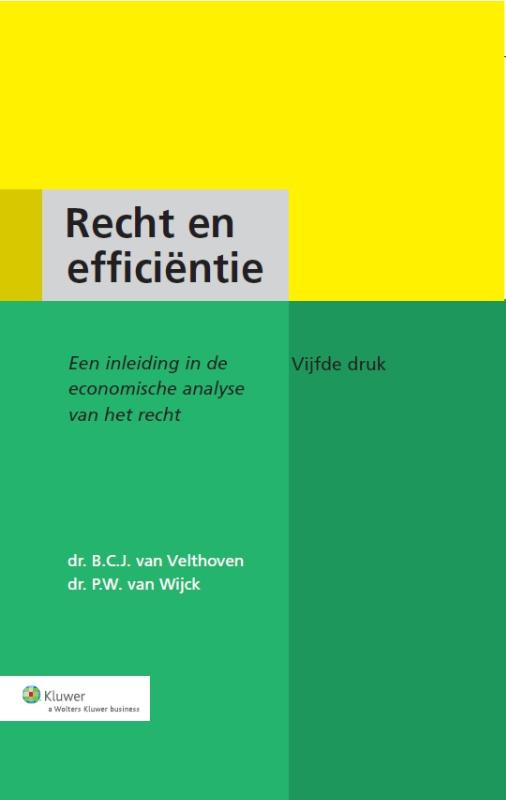 9789013111194-Recht-en-efficientie