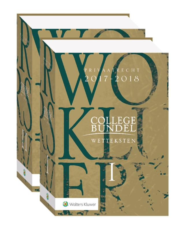 Wolters Kluwer Collegebundel 2017-2018