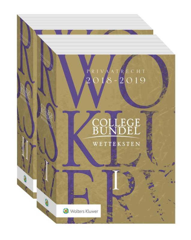 9789013147520-Wolters-Kluwer-Collegebundel-2018-2019