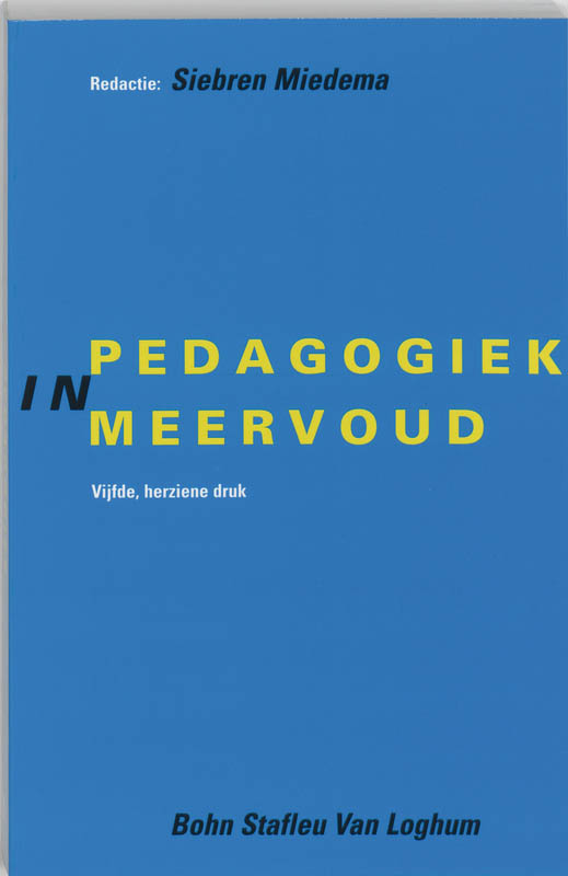 9789031322299-Pedagogiek-in-meervoud