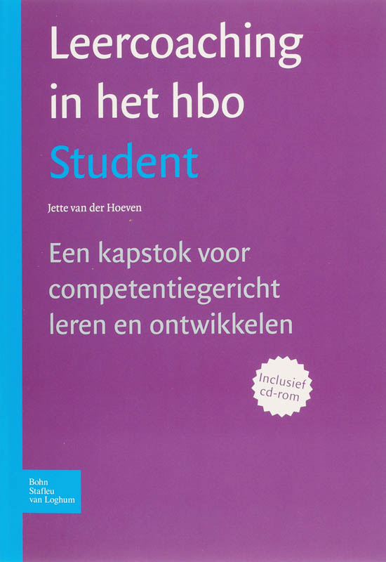 9789031346776-Leercoaching-In-Het-Hbo-Student--Cd-Rom