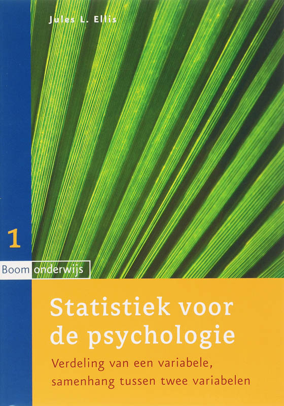 9789047300342-Statistiek-Voor-De-Psychologie