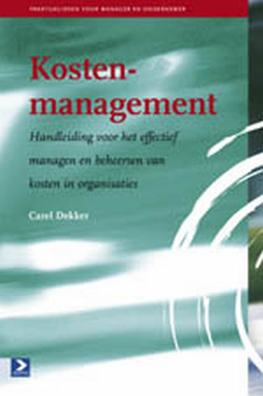 9789052616599-Kostenmanagement