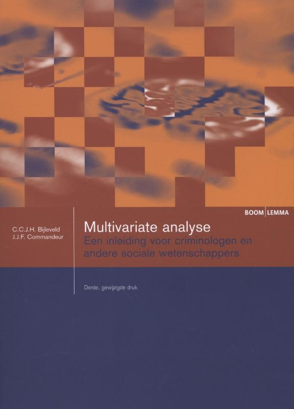 9789059318830-Multivariate-analyse