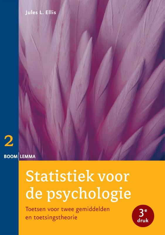 Statistiek voor de psychologie