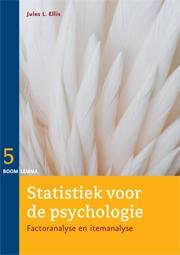 9789059319752-Statistiek-voor-de-psychologie-factor--en-itemanalyse