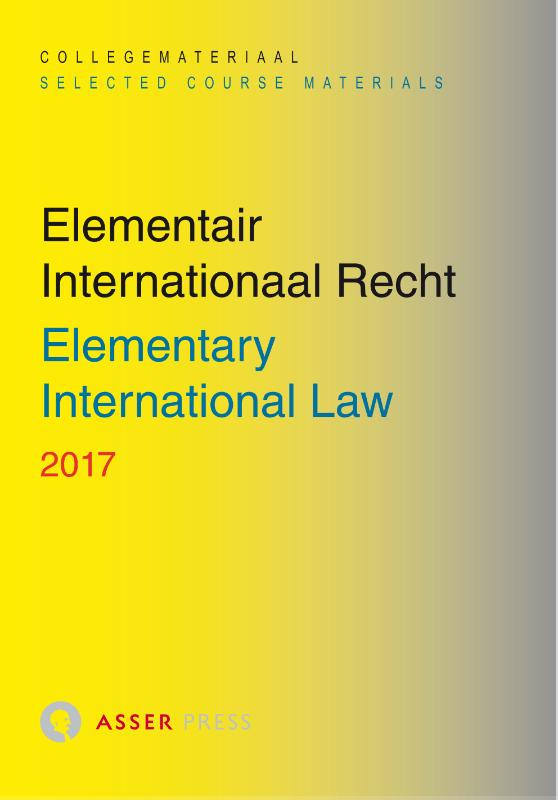 Elementair Internationaal Recht 2017