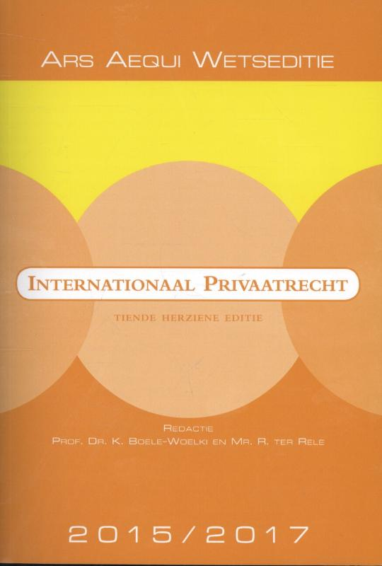 Internationaal privaatrecht 2015
