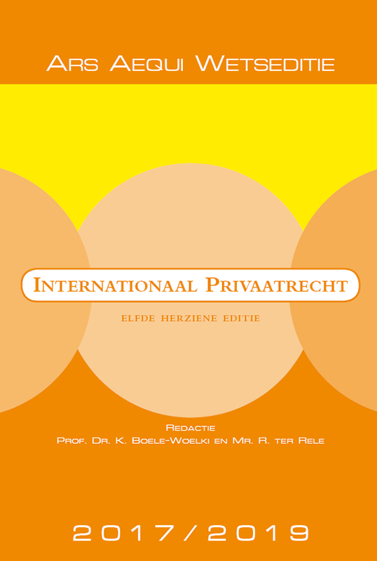 Ars Aequi Wetseditie - Internationaal Privaatrecht 2017