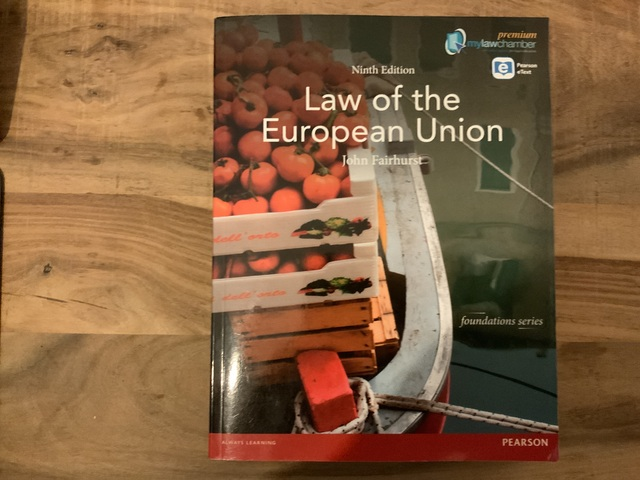 9781408295267-Law-of-the-European-Union-MyLawChamber-Premium-Pack